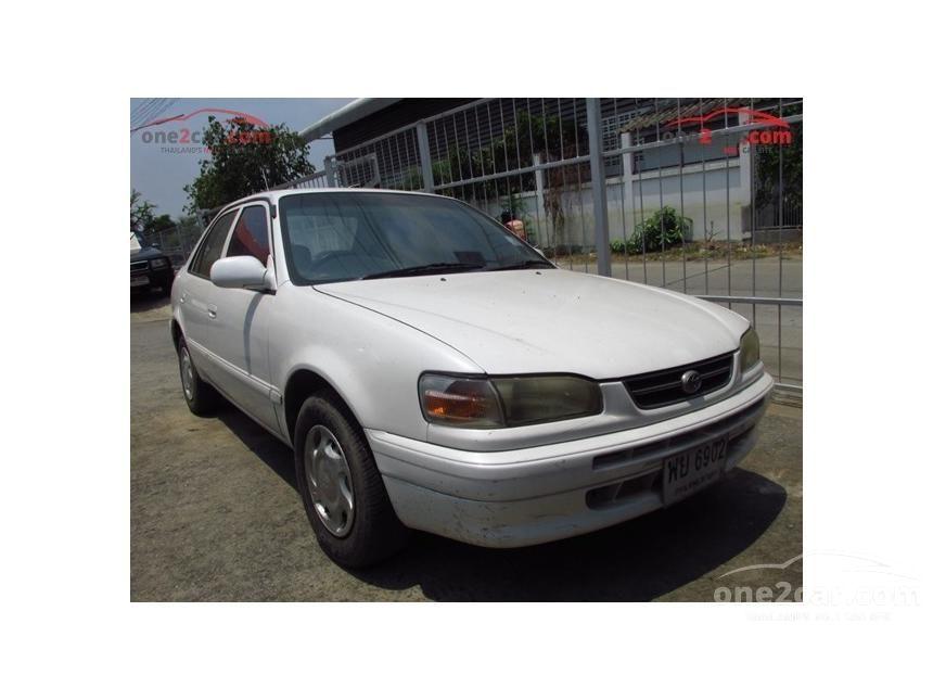 1997 Toyota Corolla GXi Sedan