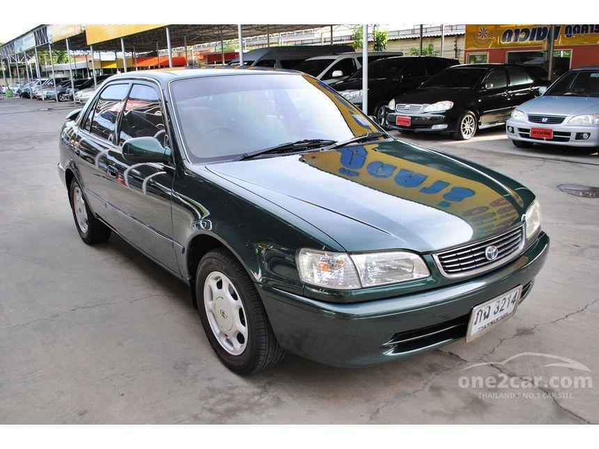 1999 Toyota Corolla GXi Sedan