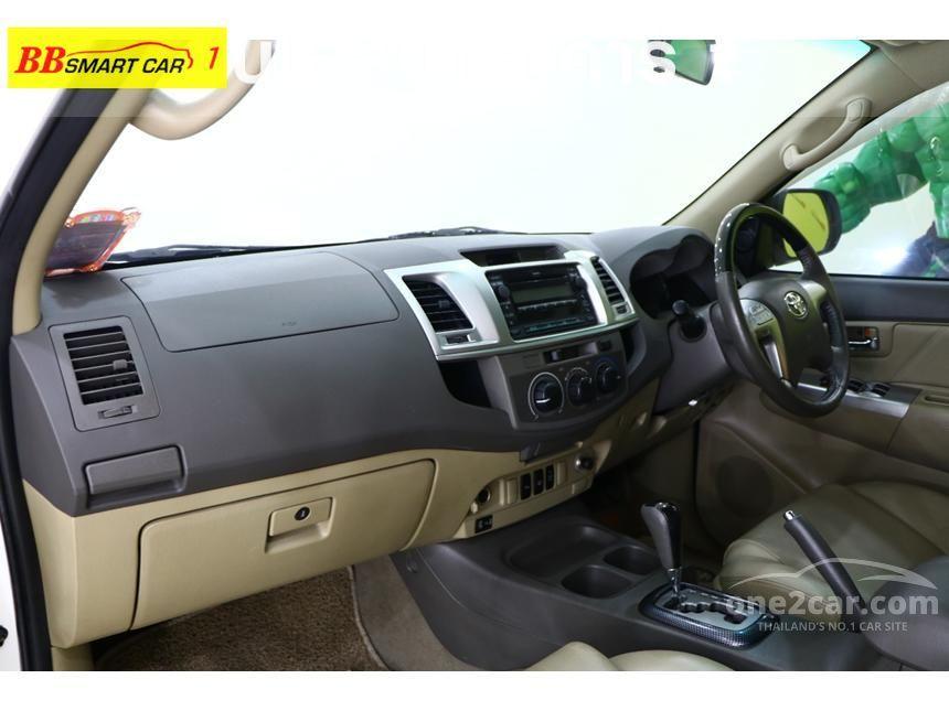 2012 Toyota Fortuner G SUV