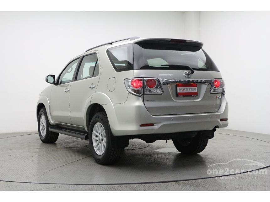 2013 Toyota Fortuner G SUV