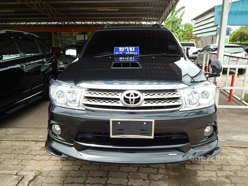 2008 Toyota Fortuner Smart V Wagon