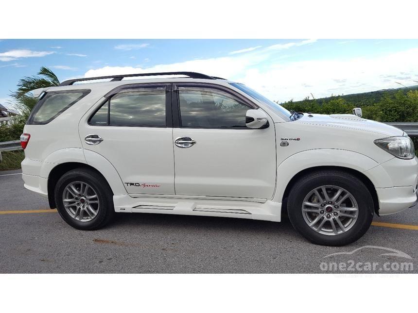 2010 Toyota Fortuner TRD SUV