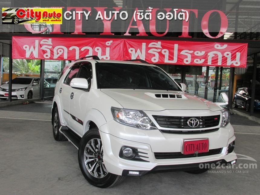 2015 Toyota Fortuner TRD SUV