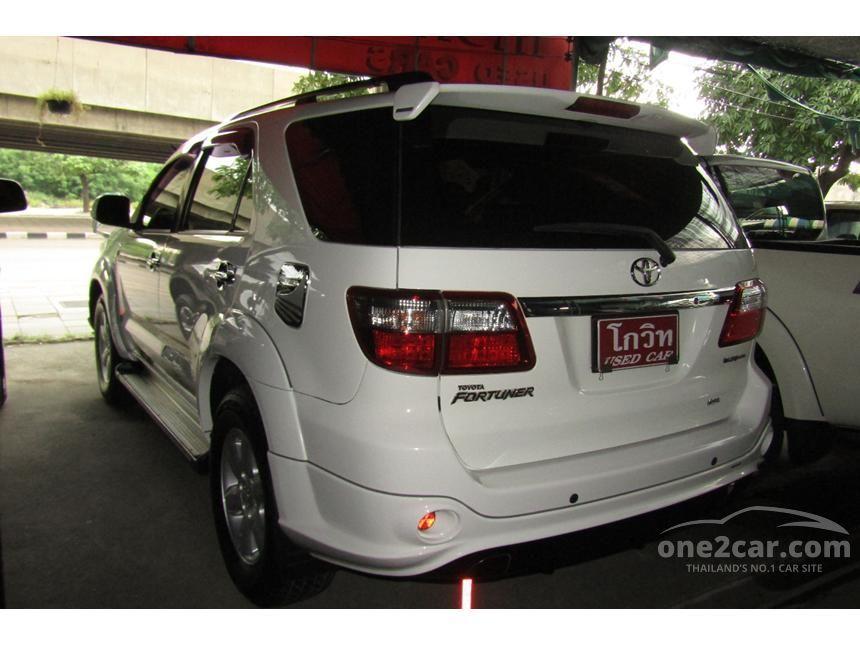 2009 Toyota Fortuner TRD SUV