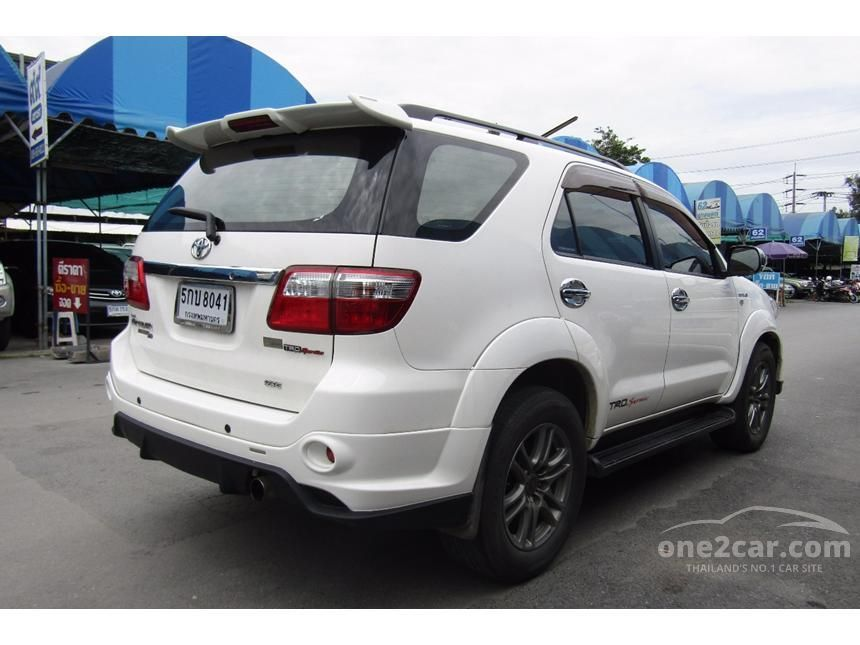 2011 Toyota Fortuner TRD SUV