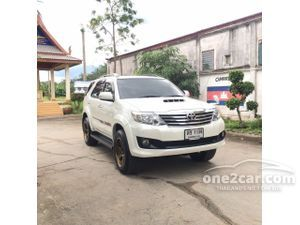 2012 Toyota Fortuner 3.0 (ปี 12-15) V 4WD SUV