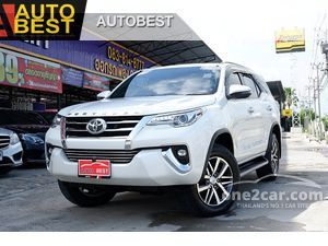 2019 Toyota Fortuner 2.4 (ปี 15-18) V 4WD SUV