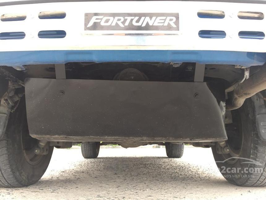 2011 Toyota Fortuner V SUV