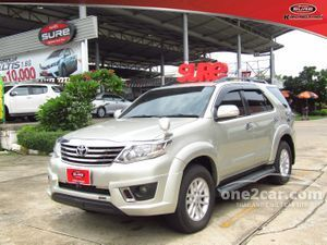 2012 Toyota Fortuner 2.7 (ปี 12-15) V SUV AT