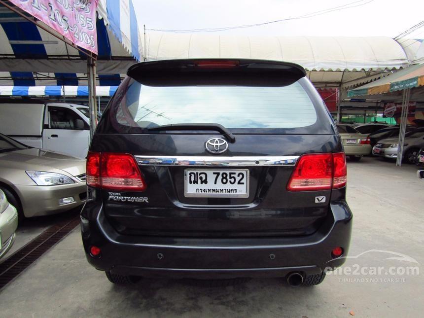 2008 Toyota Fortuner V SUV