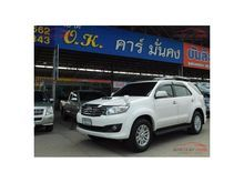 2012 Toyota Fortuner (ปี 12-15) V 3.0 AT SUV