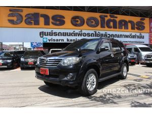 2011 Toyota Fortuner 2.7 (ปี 12-15) V Wagon AT