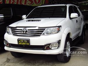 2014 Toyota Fortuner 3.0 (ปี 12-15) V SUV AT