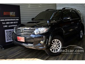 2011 Toyota Fortuner 3.0 (ปี 12-15) V SUV AT
