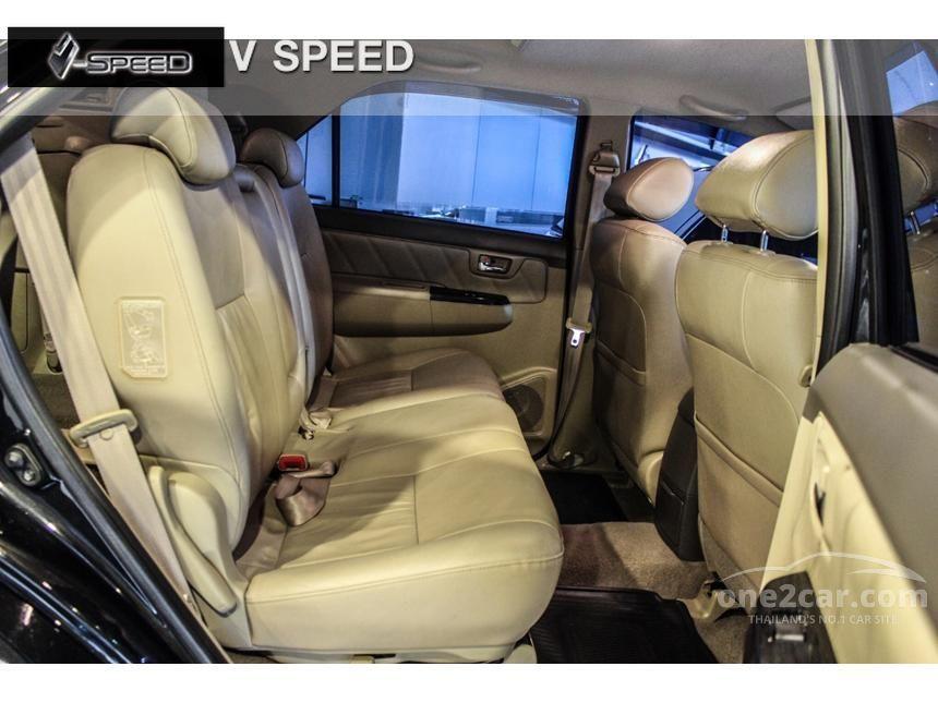 2011 Toyota Fortuner V Wagon
