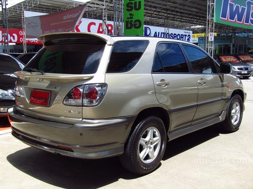 2003 Toyota Harrier 300G Wagon