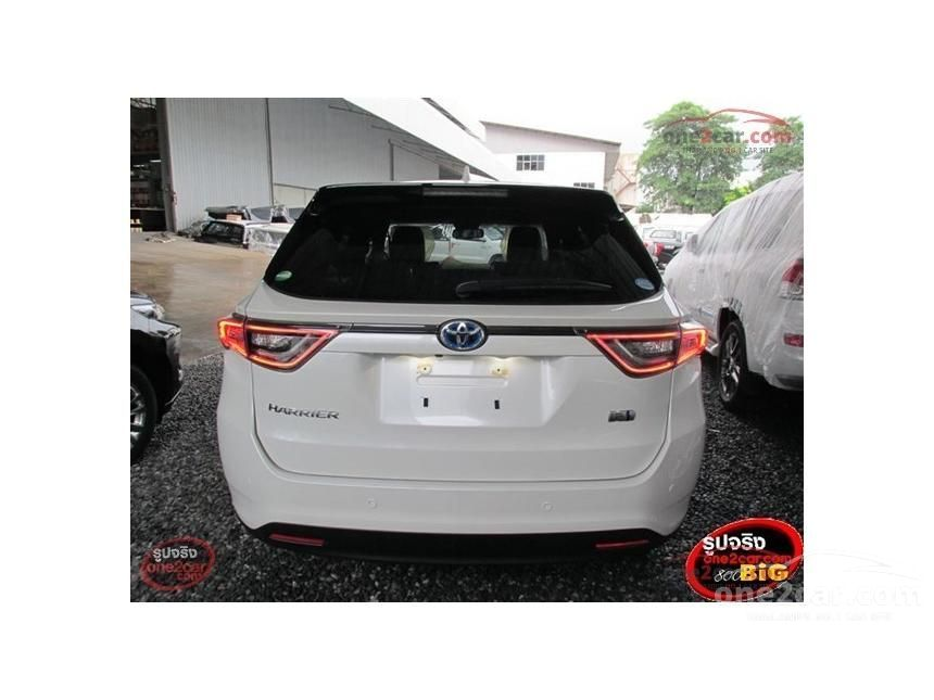 2016 Toyota Harrier Hybrid E- Four Wagon