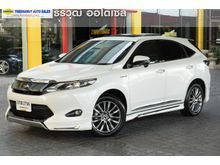 2014 Toyota Harrier (ปี 14-17) Hybrid PREMIUM 2.5 AT Wagon
