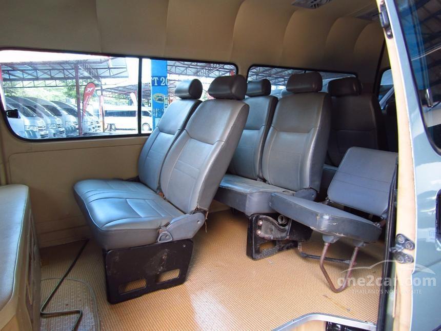 2001 Toyota Hiace Commuter Van