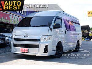 2013 Toyota Hiace 2.5 COMMUTER (ปี 05-16) D4D Van
