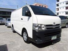 2011 Toyota Hiace ตัวเตี้ย (ปี 05-16) D4D 2.5 MT Van