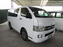 2009 Toyota Hiace ตัวเตี้ย (ปี 05-16) D4D 2.5 MT Van