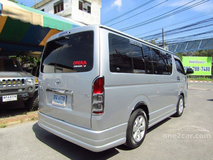 2009 Toyota Hiace D4D Van