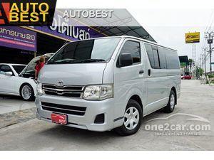 2013 Toyota Hiace 2.5 ตัวเตี้ย (ปี 05-16) D4D Van