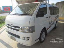 2010 Toyota Hiace ตัวเตี้ย (ปี 05-16) D4D 2.5 MT Van