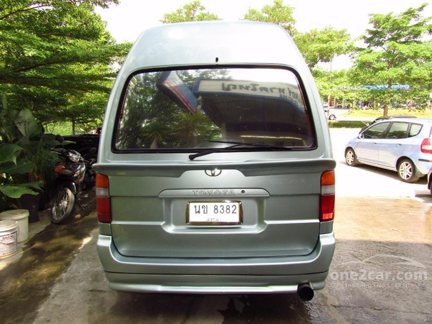 2004 Toyota Hiace GL Van