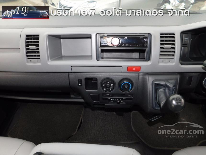 2011 Toyota Hiace GL Van