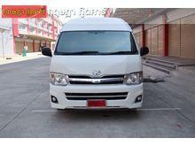 2012 Toyota Hiace COMMUTER (ปี 05-16) VVTi 2.7 MT Van