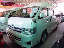 2011 Toyota HIACE COMMUTER (ปี 05-16) VVTi 2.7 AT Van