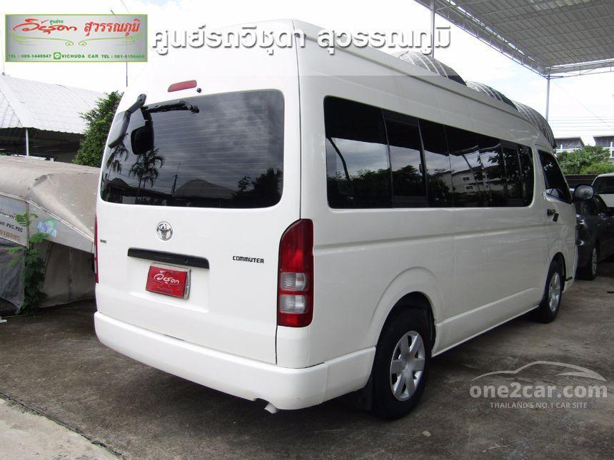 2010 Toyota Hiace VVTi Van