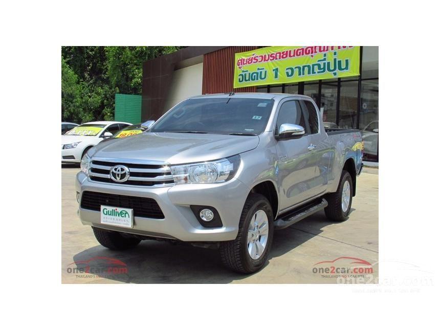 2015 Toyota Hilux Revo G Prerunner Pickup