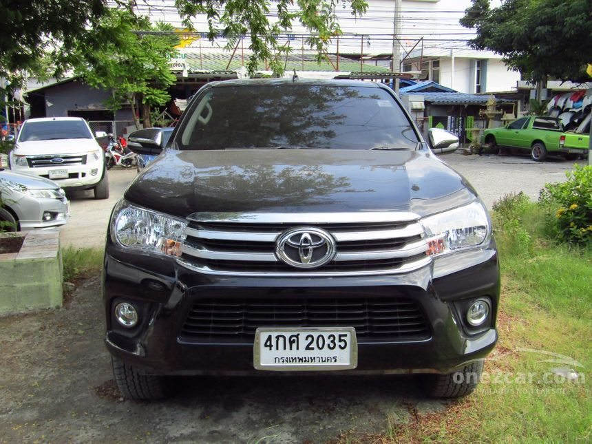 2016 Toyota Hilux Revo G Prerunner Pickup