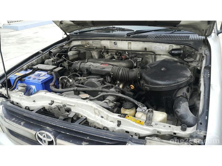 2001 Toyota Hilux Tiger E Pickup