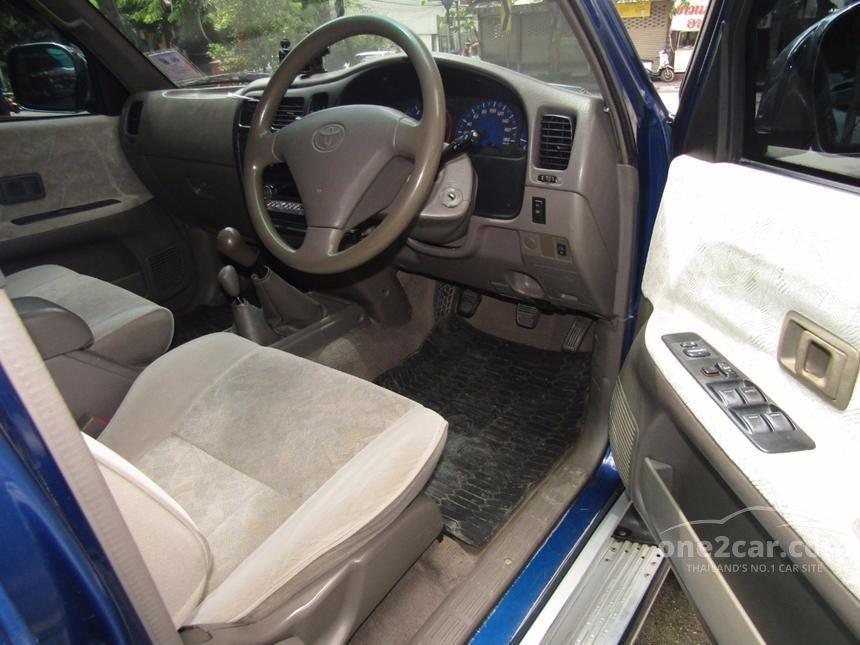 2003 Toyota Hilux Tiger E Pickup