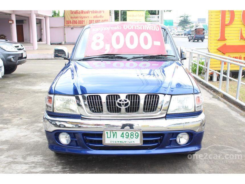 2002 Toyota Hilux Tiger J Pickup