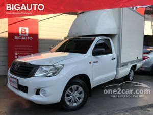 2014 Toyota Hilux Vigo 2.7 CHAMP SINGLE (ปี 11-15) CNG Pickup MT