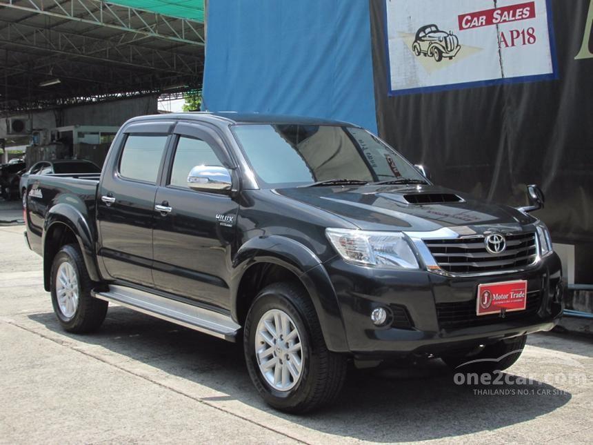 2014 Toyota Hilux Vigo Double Cab E Prerunner VN Turbo Pickup