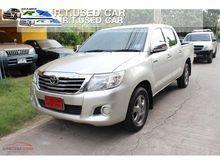 2011 Toyota Hilux Vigo CHAMP DOUBLE CAB (ปี 11-15) E 2.7 MT Pickup