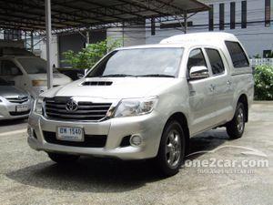 2012 Toyota Hilux Vigo 2.5 CHAMP DOUBLE CAB (ปี 11-15) E Pickup MT