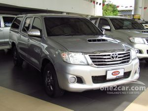 2014 Toyota Hilux Vigo 2.5 CHAMP DOUBLE CAB (ปี 11-15) E Pickup MT