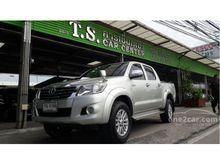 2013 Toyota Hilux Vigo CHAMP DOUBLE CAB (ปี 11-15) E 2.5 MT Pickup