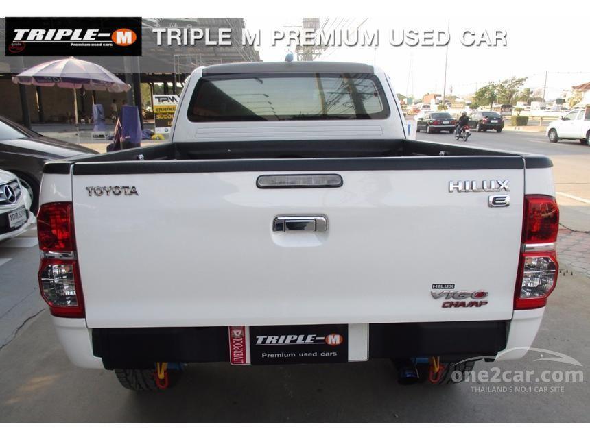 2014 Toyota Hilux Vigo E Prerunner VN Turbo Pickup