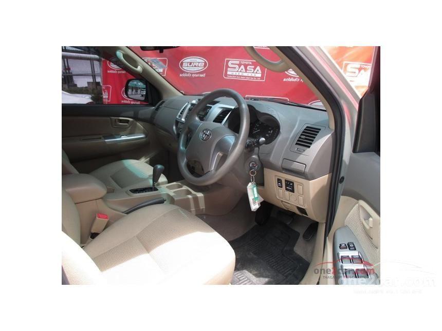 2013 Toyota Hilux Vigo E Prerunner VN Turbo Pickup