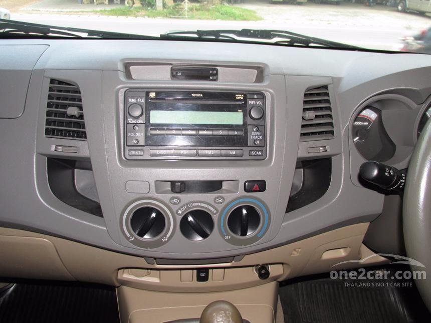 2010 Toyota Hilux Vigo E Prerunner VN Turbo Pickup