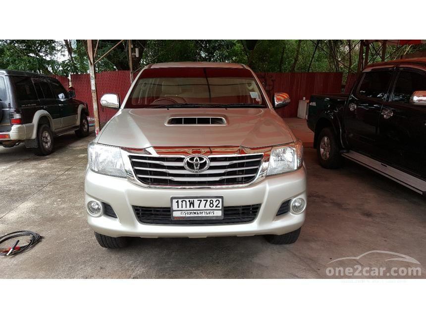 2013 Toyota Hilux Vigo G 4x4 VN Turbo Pickup