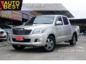 2013 Toyota Hilux Vigo 3.0 CHAMP DOUBLE CAB (ปี 11-15) G Pickup